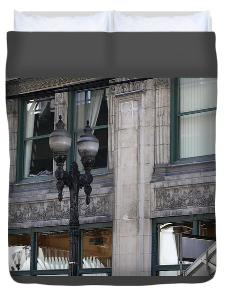 Beautiful Chicago Gothic Grunge Duvet Cover