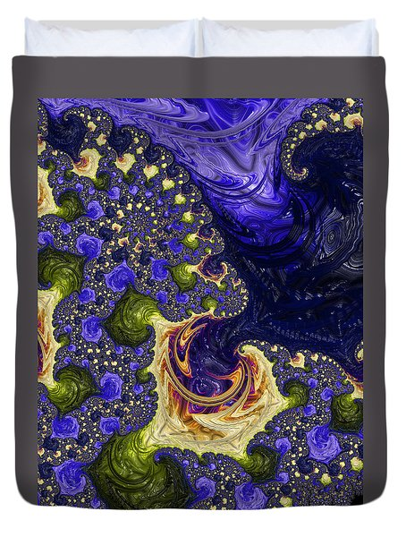 Duvet Cover featuring the photograph Beautiful Cosmos by Ronda Broatch