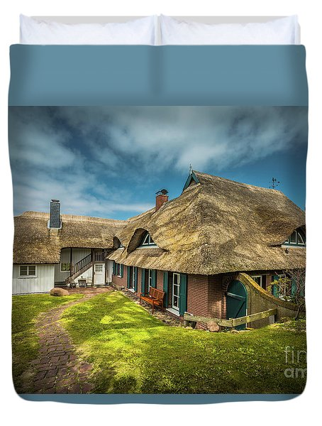 Beautiful Cottage Duvet Cover