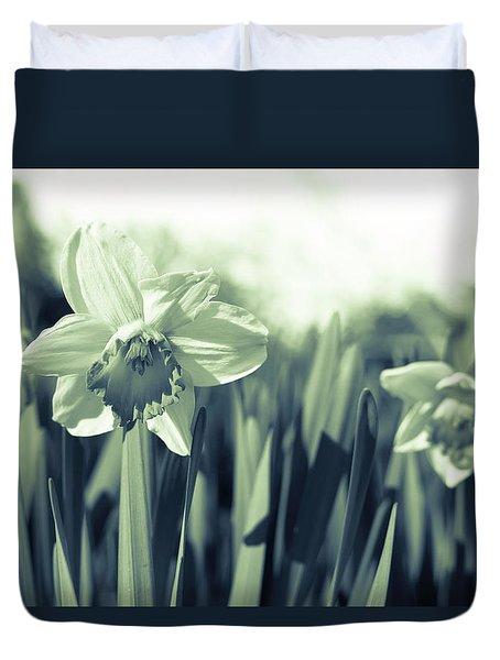 Beautiful Daffodil Duvet Cover
