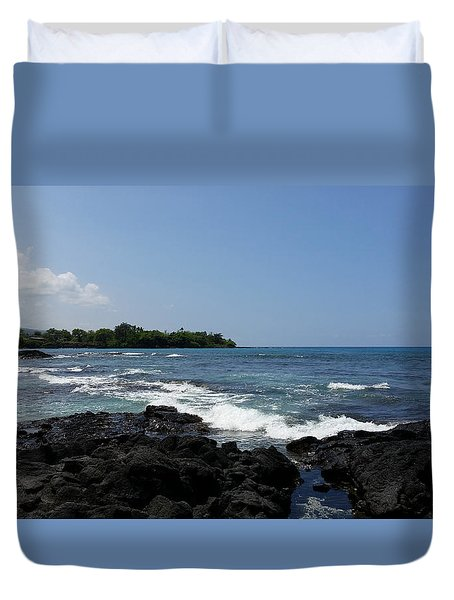 Beautiful Day Duvet Cover by Pamela Walton