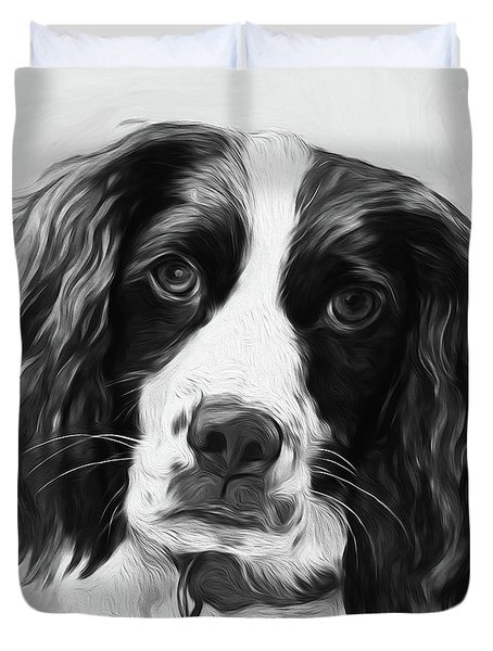 Beautiful Dog  Duvet Cover