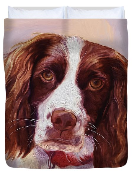 Beautiful  Dog01 Duvet Cover