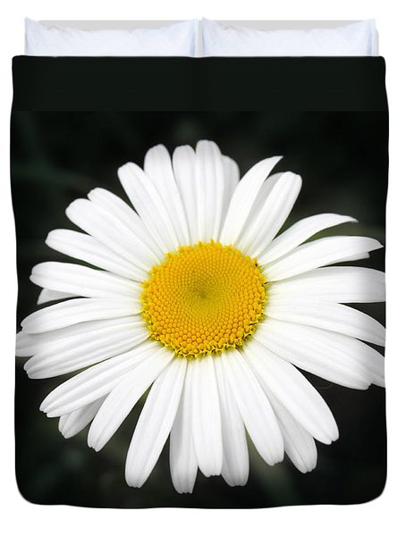 Duvet Cover featuring the photograph Beautiful Flower by Milena Ilieva