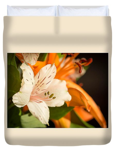 Beautiful Flowers Duvet Cover