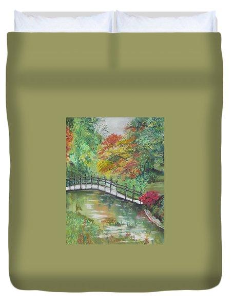 Beautiful Garden Duvet Cover