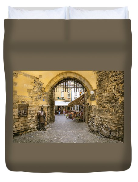 Duvet Cover featuring the photograph Beautiful Holland by Roy McPeak
