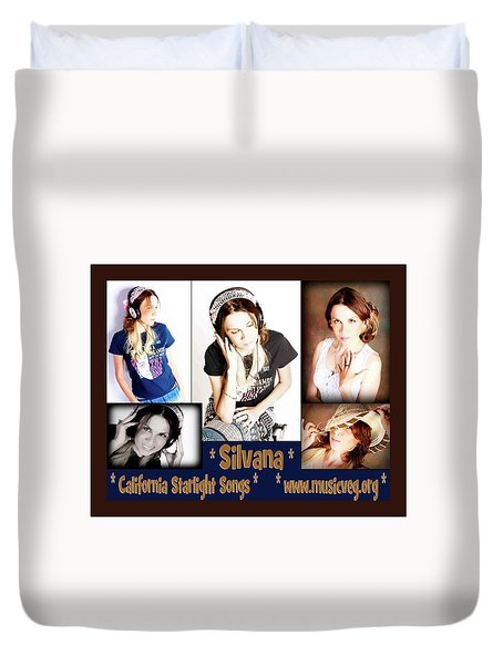 Beautiful Images Of Hot Photo Model Duvet Cover by Silvana Vienne