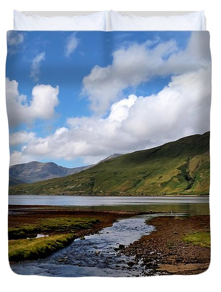 Duvet Cover featuring the photograph Beautiful Ireland by Michelle Joseph-Long