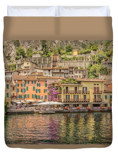 Duvet Cover featuring the photograph Beautiful Italy by Roy McPeak