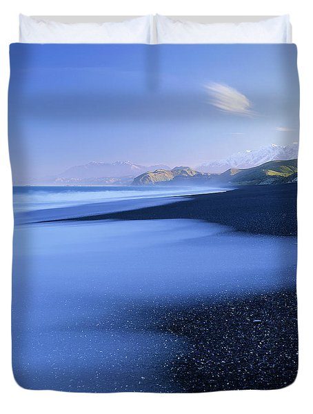 Beautiful Kekerengu Bay, New Zealand Duvet Cover