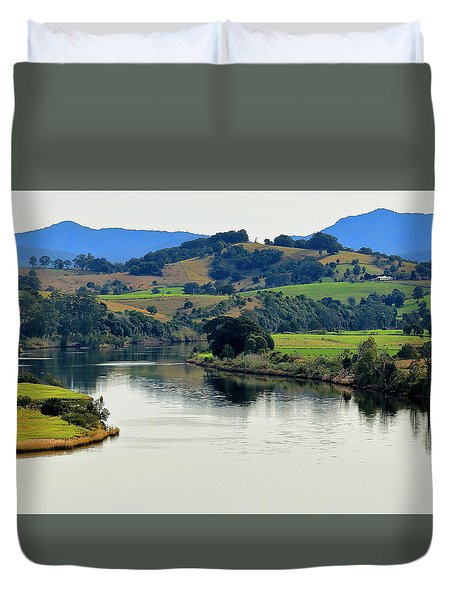 Beautiful Manning River 06663. Duvet Cover