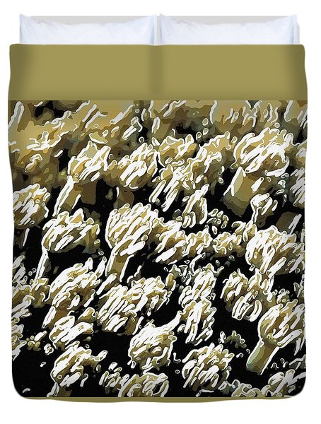Beautiful Marine Plants 4 Duvet Cover by Lanjee Chee