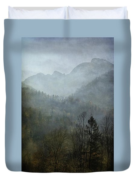 Beautiful Mist Duvet Cover by AugenWerk Susann Serfezi