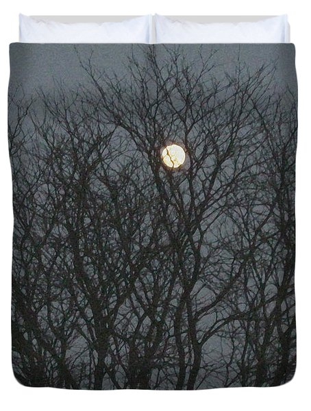Beautiful Moon Duvet Cover