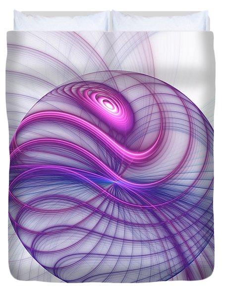 Beautiful Movements Fractal Art Duvet Cover