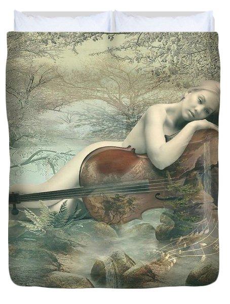 Beautiful Music Duvet Cover