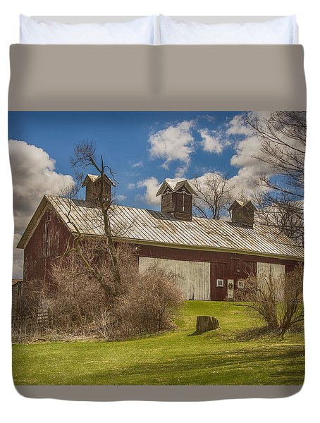 Beautiful Old Barn Duvet Cover by JRP Photography