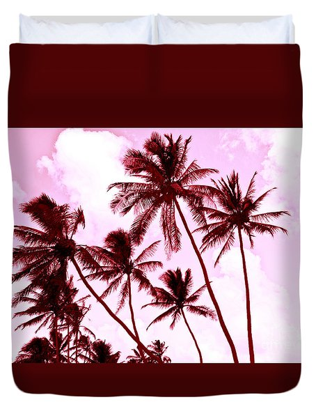 Beautiful Palms Of Maui 13 Duvet Cover
