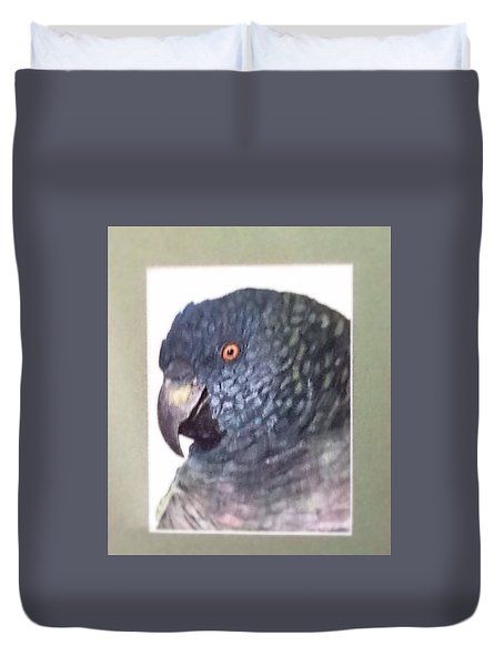 Beautiful Parrot Duvet Cover