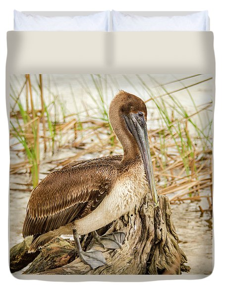 Beautiful Pelican Duvet Cover