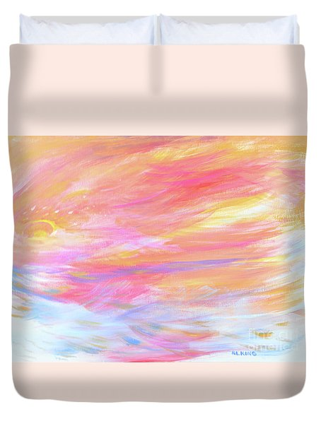 Beautiful Possibilities - Contemporary Art Duvet Cover