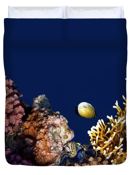 Beautiful Red Sea World 5 Duvet Cover