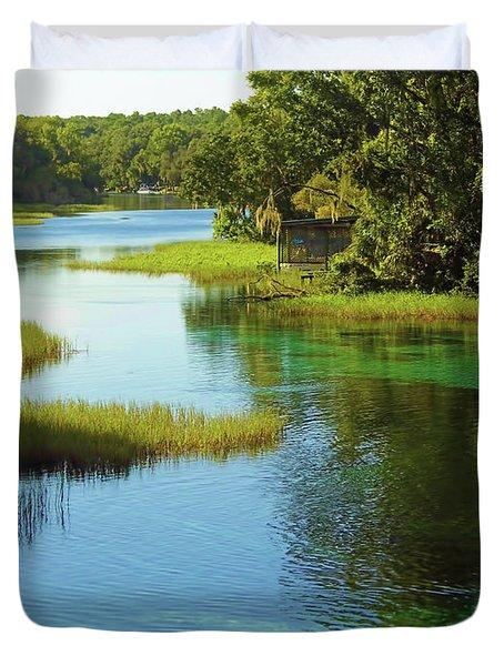 Beautiful River Duvet Cover