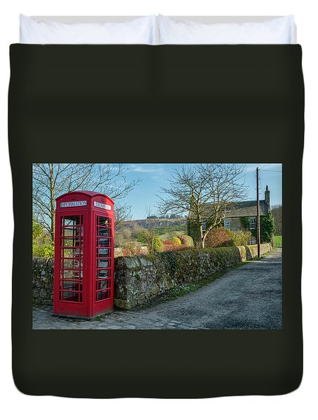 Duvet Cover featuring the photograph Beautiful Rural Scotland by Jeremy Lavender Photography