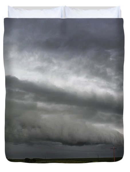 Beautiful Shelf Cloud Duvet Cover