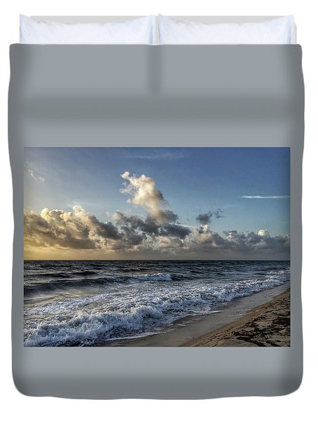 Beautiful Shore Duvet Cover
