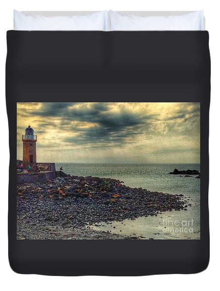 Beautiful Skies At Portpatrick 2 Duvet Cover