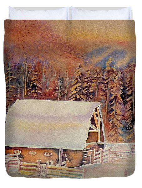 Beautiful Skies  Duvet Cover by Carole Spandau