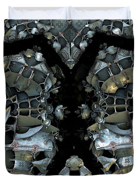 Beautiful Space Junk Duvet Cover