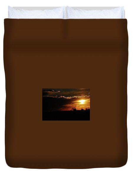 Beautiful Sunset Duvet Cover