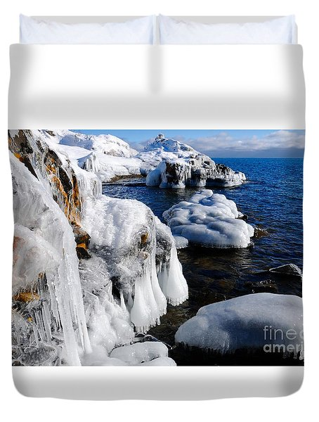 Beautiful Superior Ice Duvet Cover