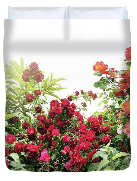 Duvet Cover featuring the photograph Beautiful Tangled Hedge by Cindy Garber Iverson