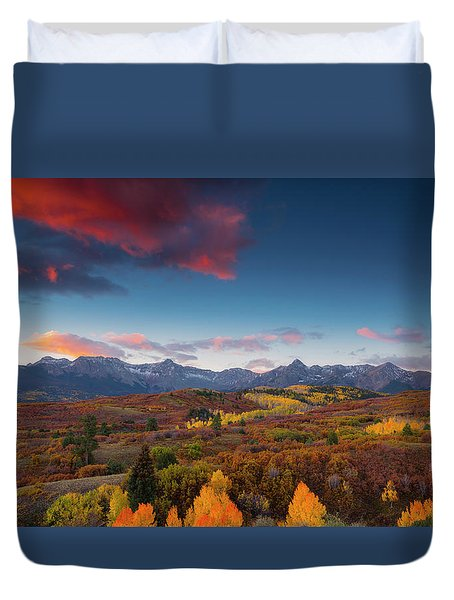 Beautiful Tints Of Autumn Duvet Cover