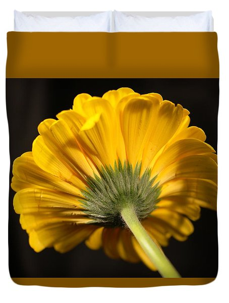Duvet Cover featuring the photograph Beautiful Underside by Jeff Swan