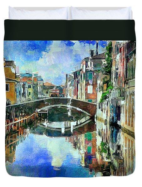 Beautiful Venice Duvet Cover
