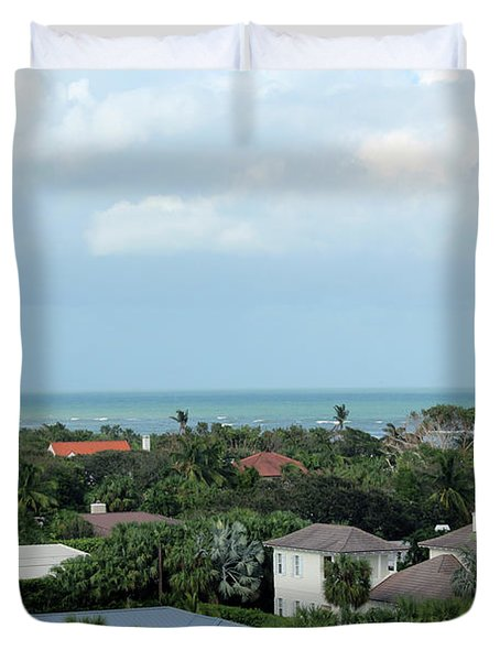 Beautiful Vero Beach Florida Duvet Cover