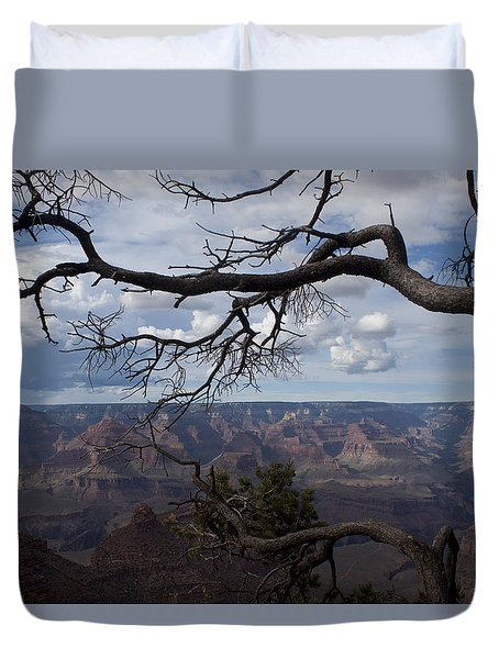 Beautiful View Of Grand Canyon Duvet Cover by Ivete Basso Photography