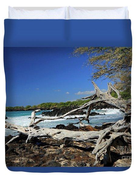 Beautiful Waialea Beach Duvet Cover by Mary Haber