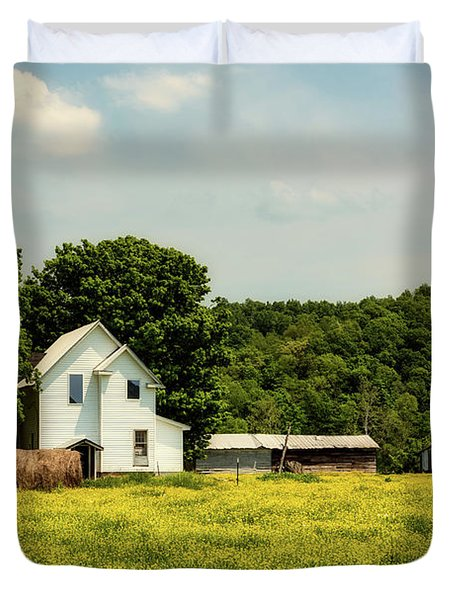 Beautiful West Virginia Duvet Cover by L O C