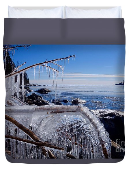 Beautiful Winter Day Duvet Cover