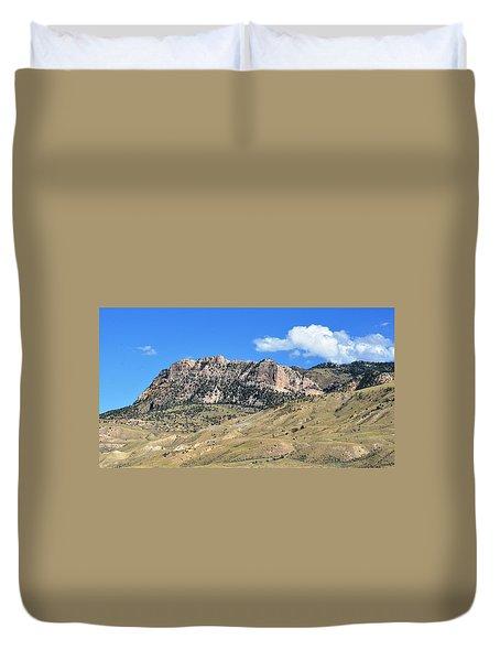 Beautiful Wyoming Duvet Cover