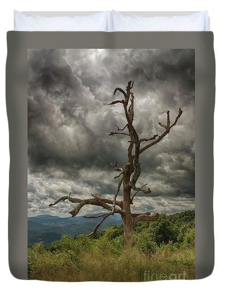 Beautifully Dead Duvet Cover