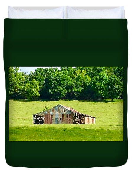 Beautifully Noble Barn Duvet Cover
