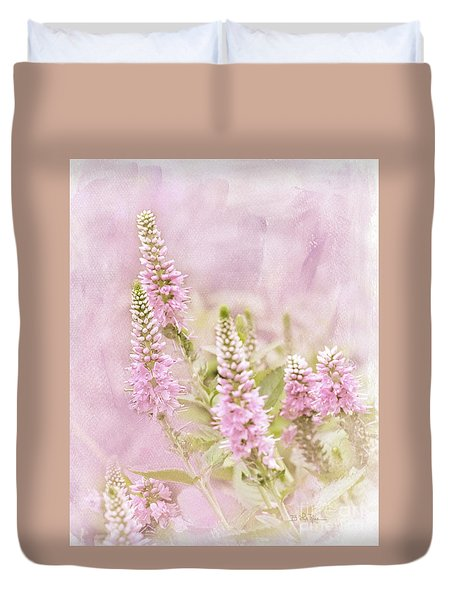 Duvet Cover featuring the photograph Beautilicious by Betty LaRue
