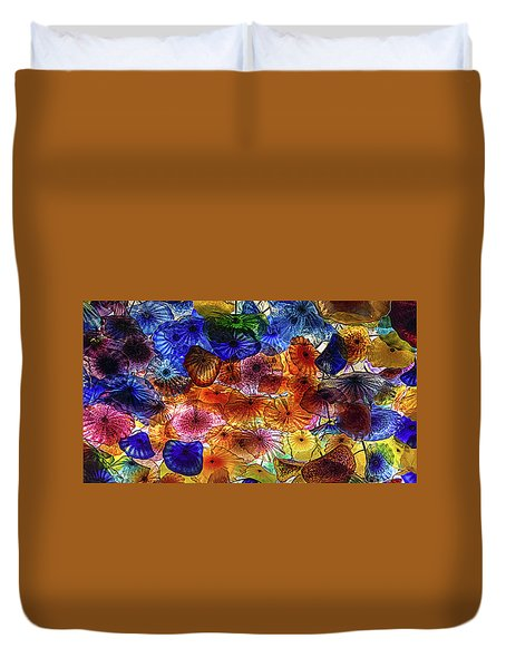 Beauty All Around Us Duvet Cover